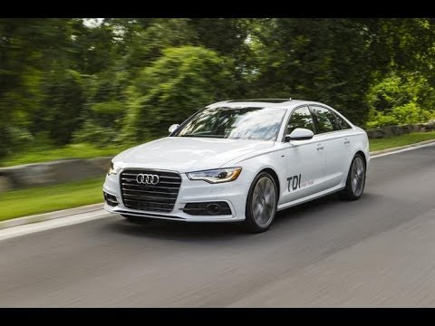 Real World Test Drive 2014 Audi A6 TDI quattro