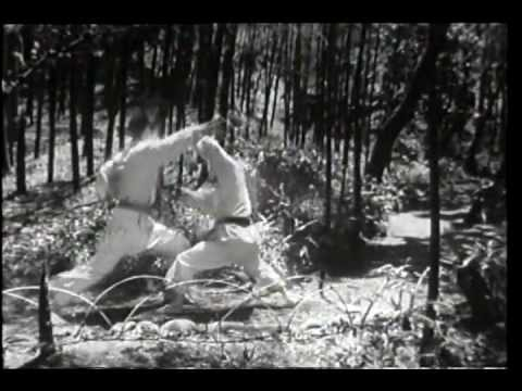 Old Footage Of Shotokan Karate Self-defense video