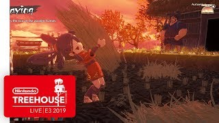 Sakuna: Of Rice and Ruin Gameplay - Nintendo Treehouse: Live | E3 2019