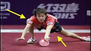 【卓球】こいつはクレイジー⁉︎一度はやってみたいこんなショット。【衝撃】crazy shot【table tennis】