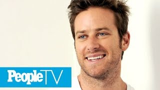 Armie Hammer's Reaction To Being PEOPLE's Sexiest 'Risk Taker' Is Pretty Hilarious | PeopleTV