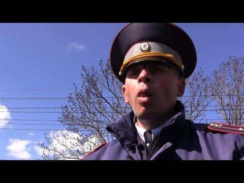 Москвичка в шоке от работы ГАИ Симферополя!