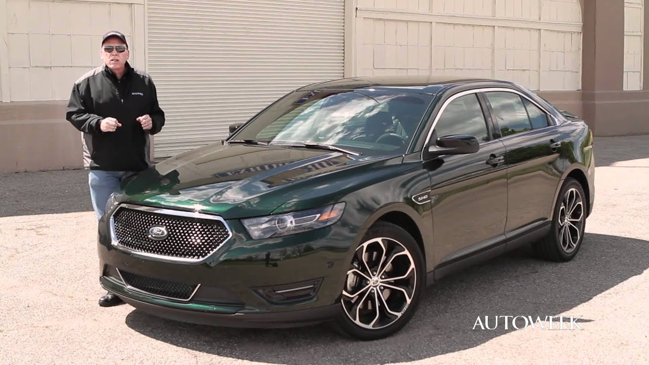 2013 Ford Taurus SHO review - Autoweek Drives - YouTube