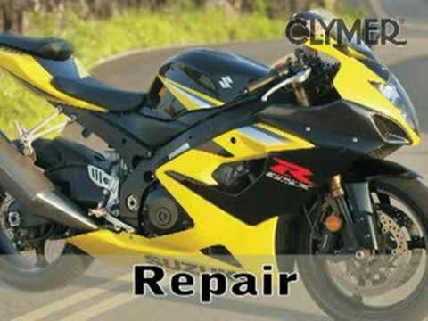 Clymer Manuals Suzuki GSX-R1000 GSXR1000 GSXR 1000 Service Repair Shop Manual Video