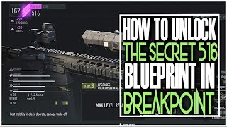 HOW TO GET THE SECRET 516 WEAPON BLUEPRINT IN GHOST RECON BREAKPOINT