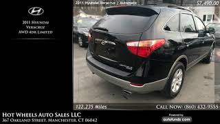 Used 2011 Hyundai Veracruz   Hot Wheels Auto Sales LLC, Manchester, CT