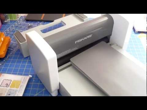 Fiskars Fuse  Creativity System How To Use Sizzix Dies