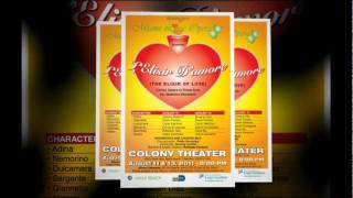 Miami Lyric Opera: L'Elisir D'Amore (Elixir of Love) @ Colony Theatre - 11 & 13 August 2011