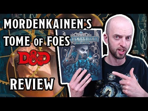 Mordenkainen's Tome of Foes - REVIEW (D&D 5E)
