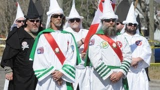 Ku Klux Klan Caught Recruiting In The Wrong Neighborhood  11/18/13