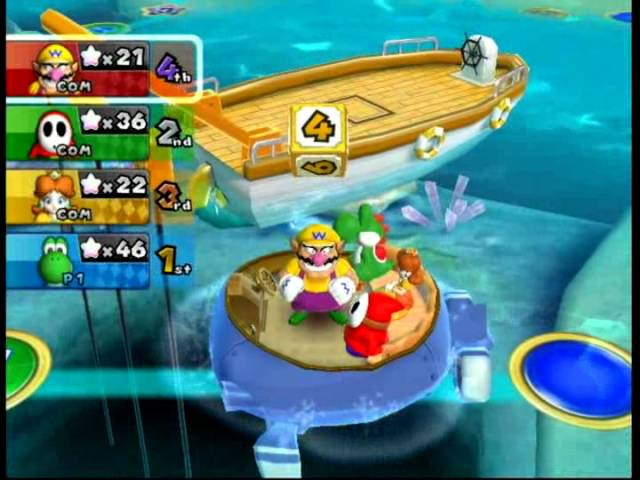Mario Party 9: Solo Mode (Yoshi) - Blooper Beach