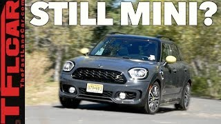 2018 Mini Countryman S E All4: What do You Call a Giant Mini?