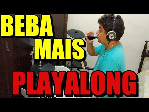 BEBA MAIS | PLAYALONG | PAULO NETTO | DRUMCOVER
