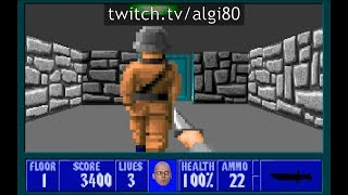 Did you know there's STEALTH in Wolfenstein 3D?