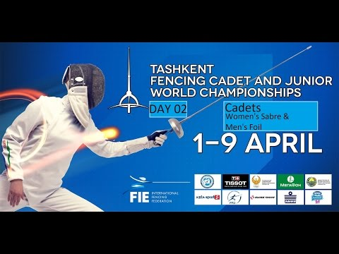 Cadets Fencing World Championships 2015 day02 - daily session