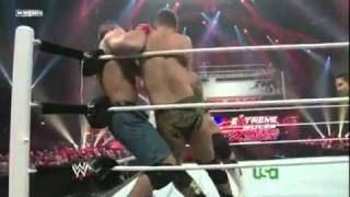 Sin Cara y John Cena vs. The Miz y Alex Riley WWE Raw en Español