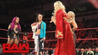 Charlotte Flair vows to embarrass Bayley in front of her father at WWE Fastlane: Raw, Feb. 27, 2017