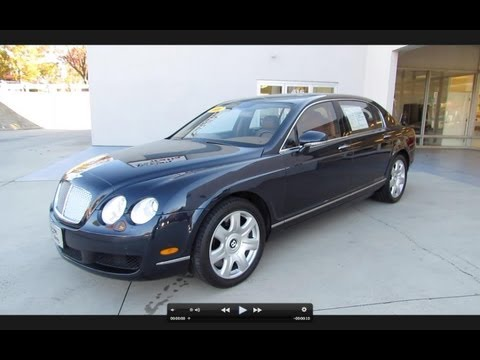 2006 Bentley Continental Flying Spur Start Up, Exhaust, and In Depth Tour