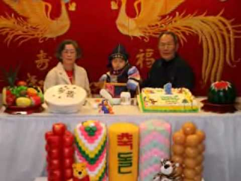 Ethan Lee's Traditional Korean 1st Birthday in U.S.