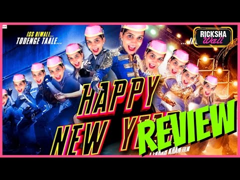 Happy New Year FUNNY Trailer Review