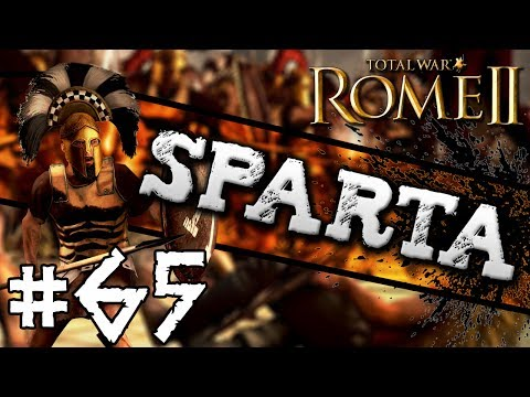 Total War: Rome II: Sparta Campaign #65 ~ ELEPHANTS!!!