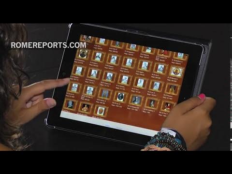 Todos los Papas de la historia en una aplicación para smartphones