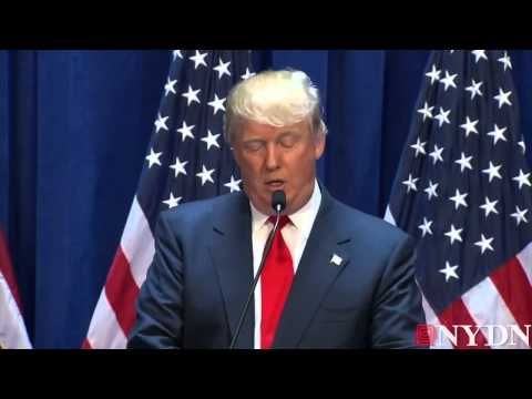 Highlights from Donald Trump 'running for President' speech