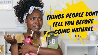 Things People Don't Tell You Before Going Natural