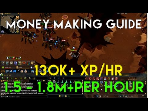 RuneScape 3 Money Making Guide 1.5m – 1.8m + per hour P2p 2014 Commentary