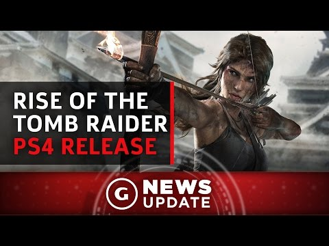 Rise of the Tomb Raider PS4 Release Date Confirmed - GS News Update