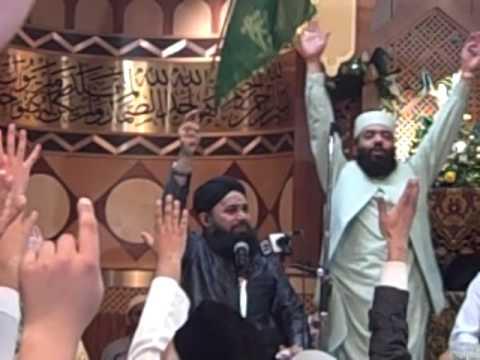 Noor Wala Aaya Hai (owais Qadri) Manchester Mehfil-e-naat 2010 video