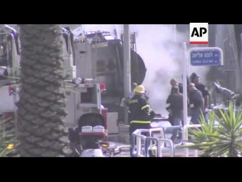 ISRAEL / GAZA - Fighting within the Gaza Strip
