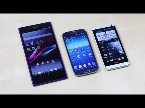 Sony Xperia Z Ultra vs Samsung Galaxy S4 vs HTC One: Benchmark   SwagTab