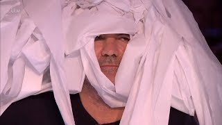 Britain's Got Talent 2018 Marty Putz Comedian Inventor Full Audition S12E01