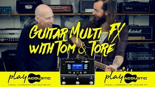 Guitar Multi-FX: Play Acoustic - Impeccable acoustic tone with BodyRez™