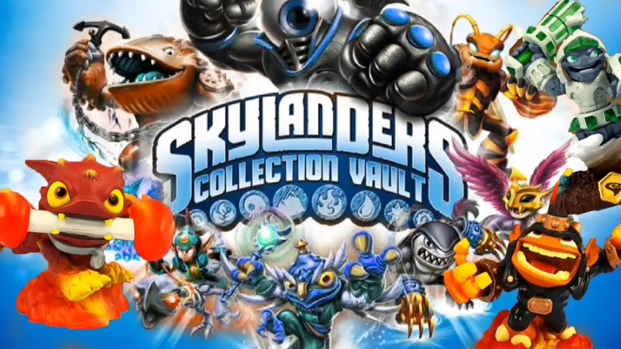 187 Skylanders Collection Vault - iOS App Overview + Give ...