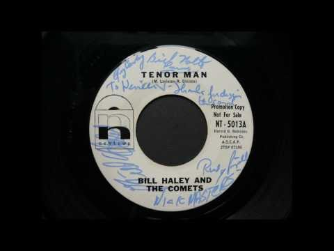 BILL HALEY AND THE COMETS - TENOR MAN - NEWTOWN NT-5013-A - 1963
