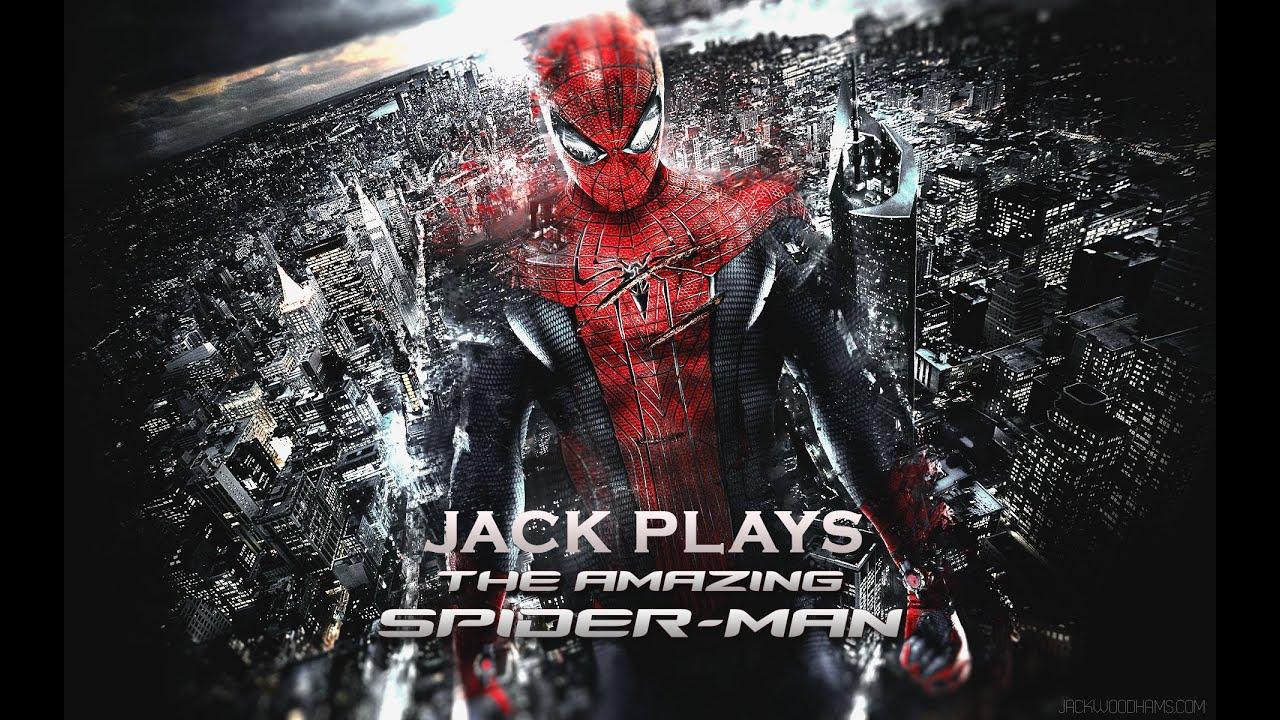 Spiderman cityscape