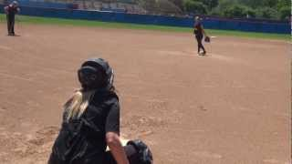Rebecca Kubena Softball Skills Video