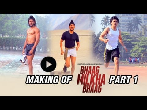 The Making Of Bhaag Milkha Bhaag | Part 1 video