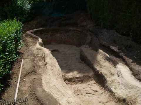 Mon bassin de youtube - Bassin de jardin bache ...