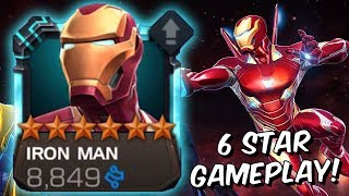6 Star Iron Man (Infinity War) Level Up & Gameplay! - Marvel Contest of Champions