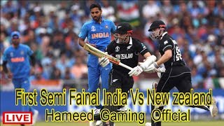 Live Streaming On India vs New Zealand First Semi Fainal Match Icc World Cup 2019 | HGO