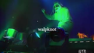 Slipknot - POA TOUR 2001  - BD - (RARE) Reported