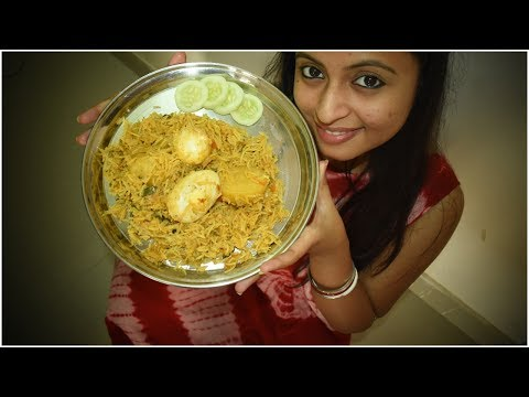 Egg Biryani | How I make Anda Biryani | Bengali Lunch Routine | Glam With Me
