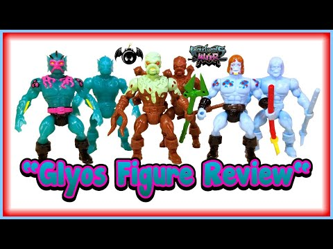 Warlords of Wor wave 4 glyos figures review.