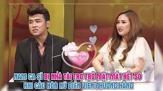 Nam ca sĩ bị nhà tài trợ trở mặt mất hết sô khi cầu hôn nữ diễn viên vì quá yêu bất chấp cô hậu đậu