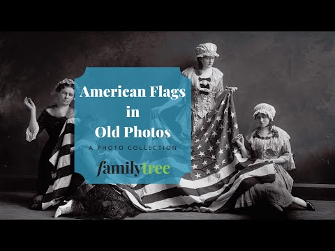 Flags in Historic Photographs