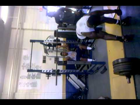 Lancaster High School,SC 550 deadlift sophomore