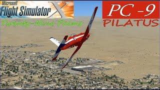 Microsoft Flight Simulator    PC-9 Twenty-Nine Palms